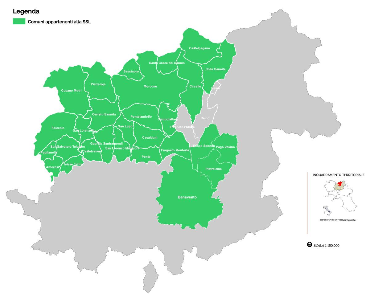 Cartina Gal Tammaro